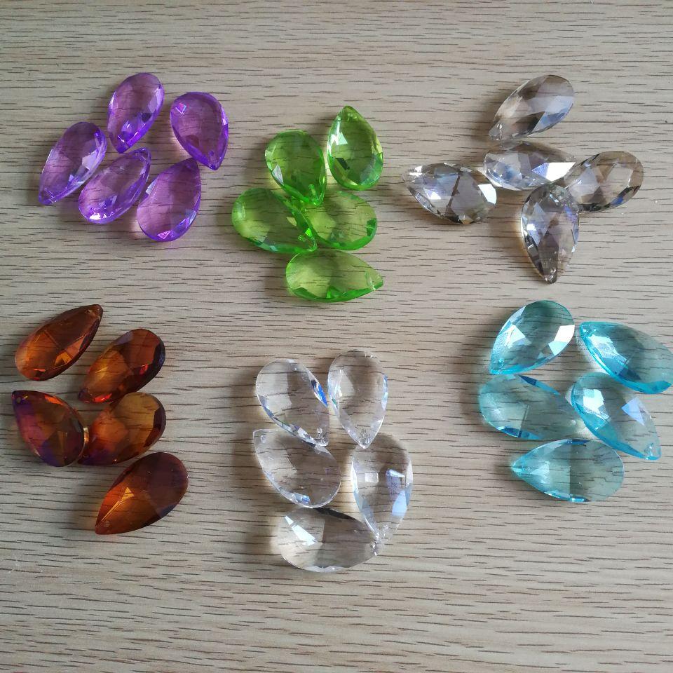 cristales de colores para lmparas