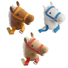 Parent-Child Interactive Toy Riding Animal Reading Horses Stuffed Toy for Children Novelty Toys