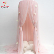 New Baby bed curtain kids Mosquito Net children Cotton Crib Netting baby bedroom decoration baby photography props
