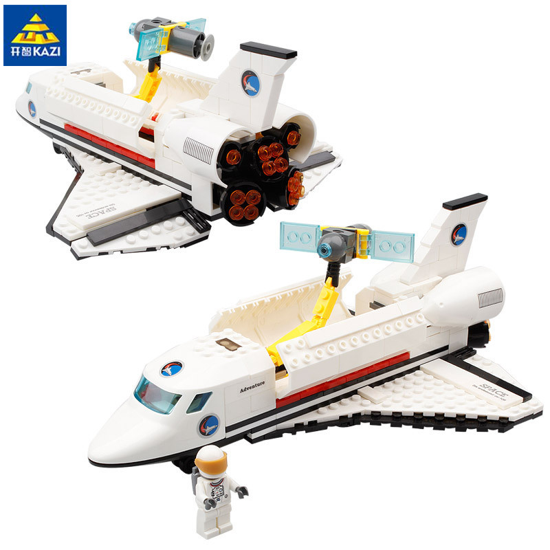 Space series Endeavour Space Shuttle 285pcs Building Blocks Boys DIY Educational Bricks Toys For Children Gift 83003 loz architecture space shuttle mini diamond nano building blocks toys loz space shuttle diy bricks action figure children toys