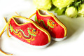 Mopopo 2017 Newborn Baby Shoes First Walkers Chinese National Flavor Antiskid Baby Winter Shoes Prewalker Cotton Baby Toddler