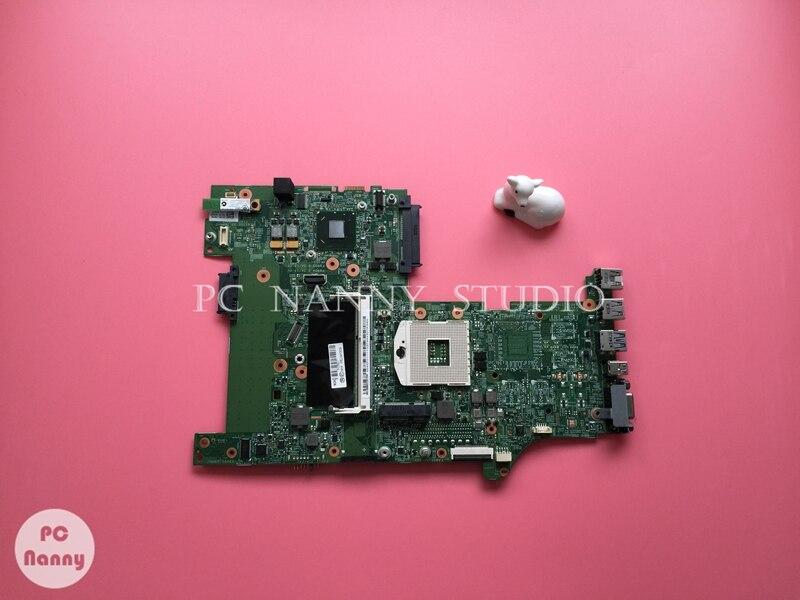 PCNANNY 04Y2029 Подлинная для Lenovo ThinkPad L530 Материнская плата ноутбука Материнская плата HD GRAPHIC s989 HM76 работает