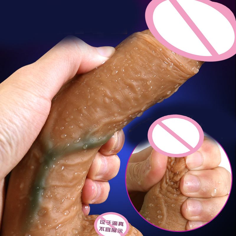 Hot Lifelike Big Silicone Dildo Realistic Suction Cup Dildo Penis Dick Women G-point Stimulation Masturbator Sex Toys For Women.