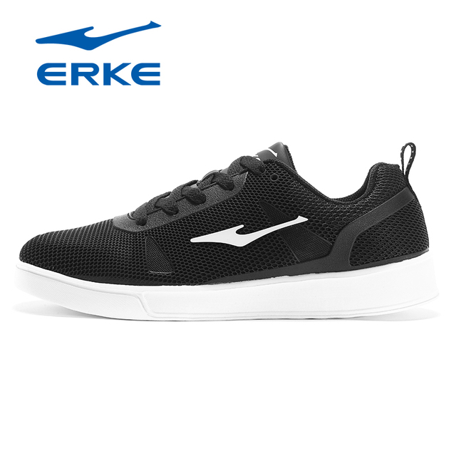 Ерке фирменные lifestyle Скейтбординг обувь мужские классические туфли на плоской подошве дышащие Спортивные кроссовки 2017 фабрика обуви