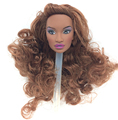 NK One Pcs Original FR Doll Head  For FR Dolls 2002 Limited Edition Collection Long Hair Best DIY Gift For Girls'  Doll 004M