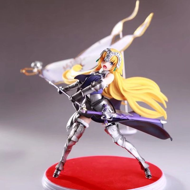 Fate/Apocryphe Fate/Grand Order Ruler Jeanne Joan of Arc PVC Action Figure Doll Collection Toy Model 20cm fate grand order anime saber jeanne gilgamesh e f g h i j series japanese rubber keychain