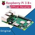 Оригинальный офонический Raspberry Pi 3 Model B + плюс Pi 3B + Linux демонстрационная плата питон Программирование мини-ПК
