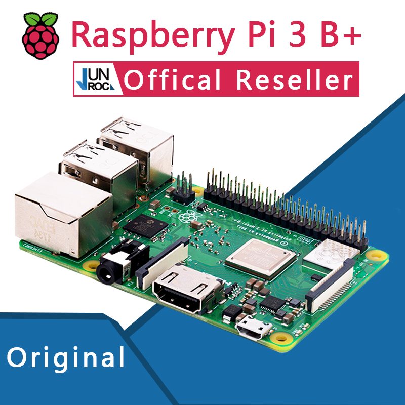 Original Offical Raspberry Pi 3 Model B+ Plus Pi 3B+ Linux Demo Board Python Programming Mini PC linux system programming