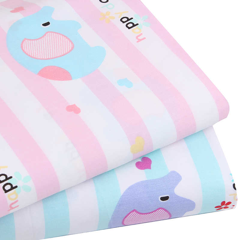 Новый 2pic/лот 40*50 см хлопок ткань costura tecidos algodao para лоскутное шитьё для подушки платье tissu ткань для поделок ткани одеяла