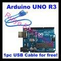 El Envío Gratuito! 10 sets Alta Calidad Junta UNO R3 MEGA328P ATMEGA16U2 para Arduino Starter Kit, Robot, con Cable USB de forma gratuita