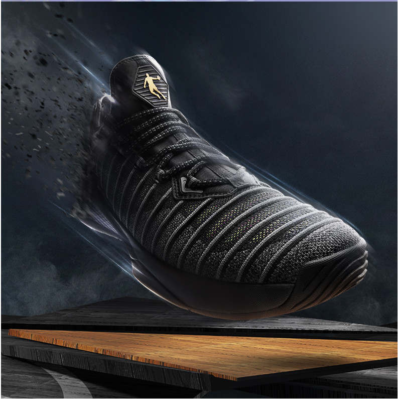 [Shopping mall] basketball shoes 2018 spring new boots men's basketball shoes  QIAO DAN