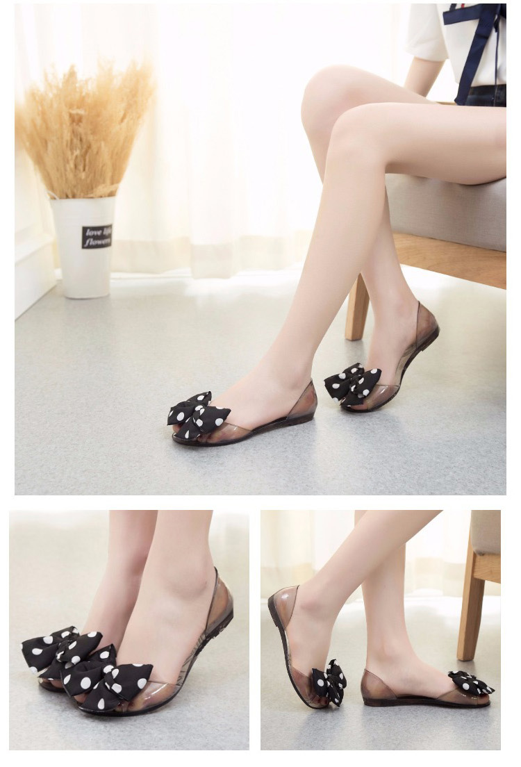Transparence impression sandales de gelée et de chaussons. 0XU4pAHPHP