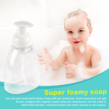 1 Pcs Baby kit Mini Plastic Transparent Small Empty Foaming Bottle For baby Washing hands Care Refillable 30/60/100/150/300ML(China)
