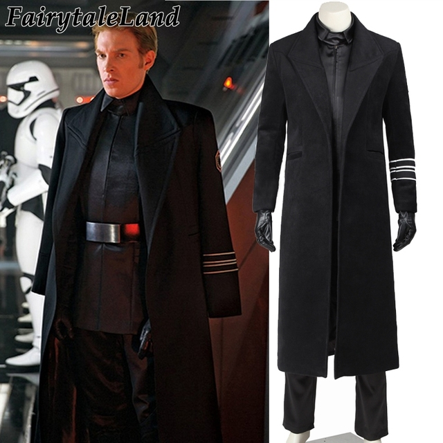 2017 star wars costume adult General Hux cosplay costume Halloween Carnival party costume Starkiller Base General Hux costume