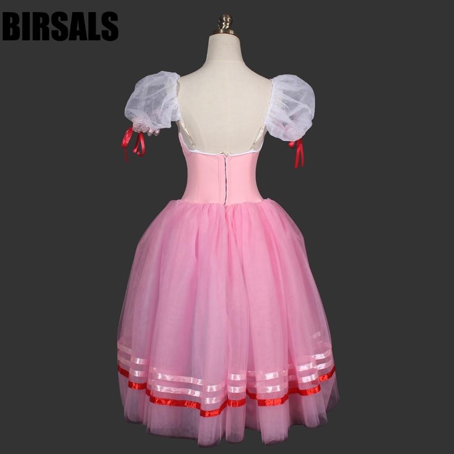 Borgoña Giselle romántico profesional Ballet tutú Niñas dama ...