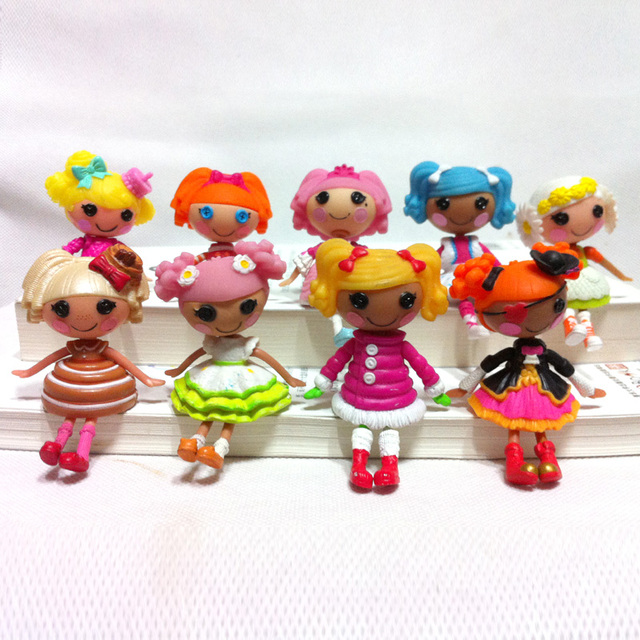 2pclot 3inch Lalaloopsy Dolls Accessories Mini Dolls For Girls Toy