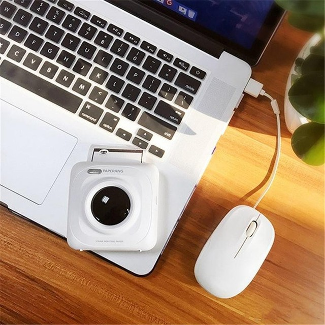 P1 Portable Bluetooth 4.0 Printer Photo Thermal Printer Phone Wireless Connection Printer Phone printer Office & School Supplies