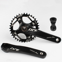 Taiwan SNAIL Mtb Crankset CNC 32/34/36T 104 BCD Narrow Wide Chainring For SHIMANO DROER Bike withbottom bracket