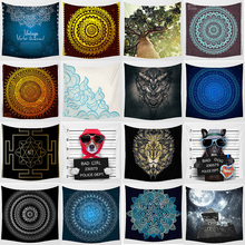 Hot sale mixture  mandala tapestries wall hanging tapestry home decoration tapiz pared 1750mm*1750mm