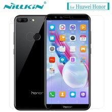 Huawei Honor 10 9 Lite закаленное стекло экран протектор Nilkin 9 H жесткий прозрачное стекло Flim для huawei Honor 9i 8X Play Magic 2
