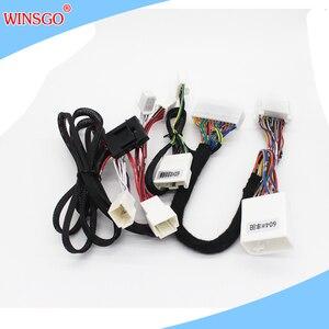 WINSGO автомобильный оконный доводчик открывающийся и закрывающийся 2 на 2 боковые зеркальные папки складные и разложенные для Toyota Camry + LHD левы...