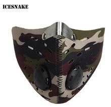 ICESNAKE  Motorcycle Face Mask Camouflage Balaclava Camuflada Dust Sports Moto Windproof Protective Masks