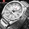 2016 NAVIFORCE Men S Luxury Brand Quartz Watch Men Waterproof Sports Watches Full Steel Black Wristwatches