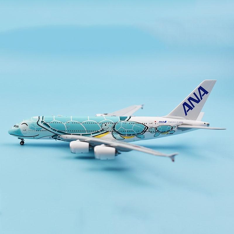 1:400 Bilancia Airbus A380 Aerei Modello di Aerei ANA Giappone Compagnie Aeree In Lega Aereo Dei Velivoli da collezione modello di visualizzazione collezione-in Macchinine in metallo e veicoli giocattolo da Giocattoli e hobby su  Gruppo 1
