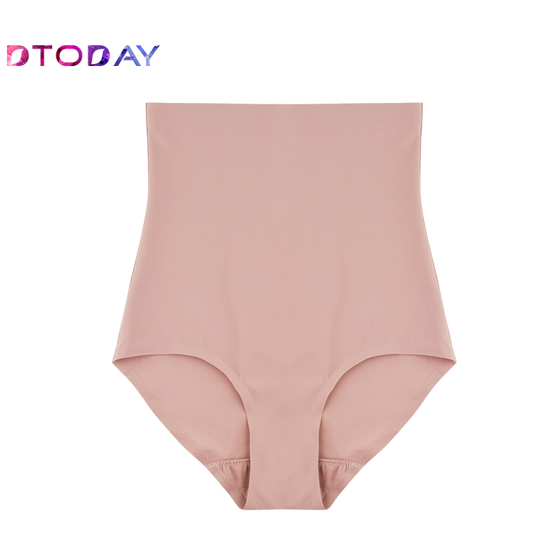 DTODAY Wholesale Super Stretch Tummy Control Panties High Waist Shaper Women Body Slimming Shapewear Underwear Butt Lifter Nylon