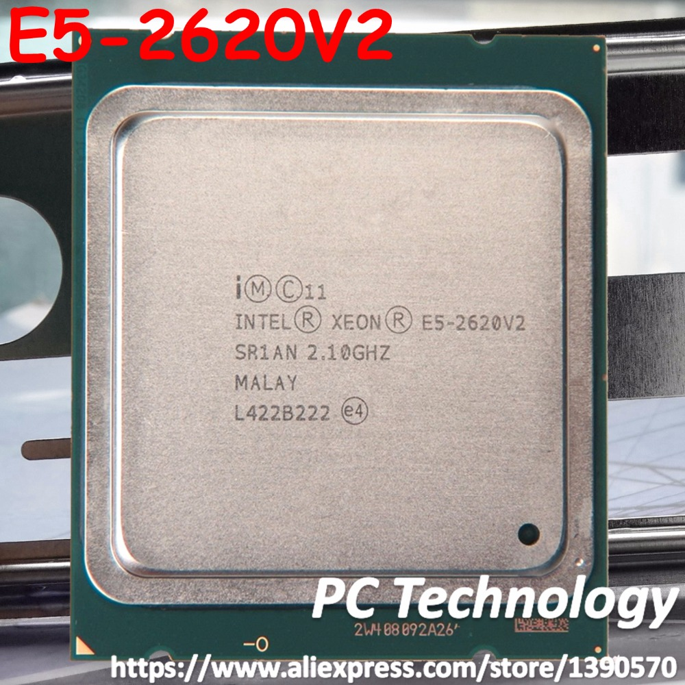 Intel Xeon E5-2620V2 SR1AN 6 Core 2.10GHz 15MB 12 Threads 80W CPU Processor