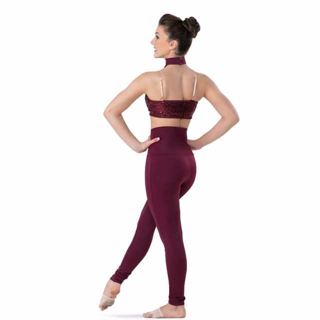 ed76a693ac7 Online Shop Womens Plus Size High Waisted Nylon Lycra Spandex Dance  Waistband Leggings Tights