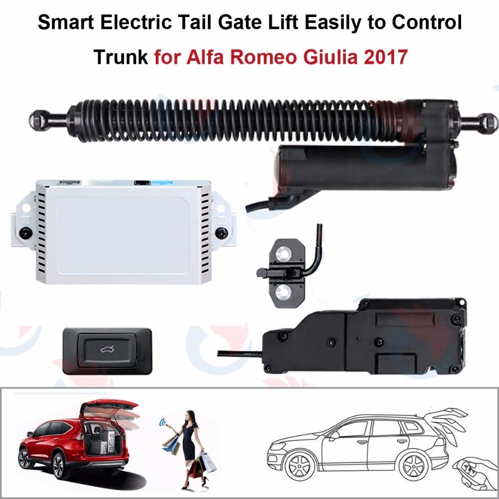 Electric Tail Gate Lift for Alfa Romeo Giulia 2017 Control by Remote