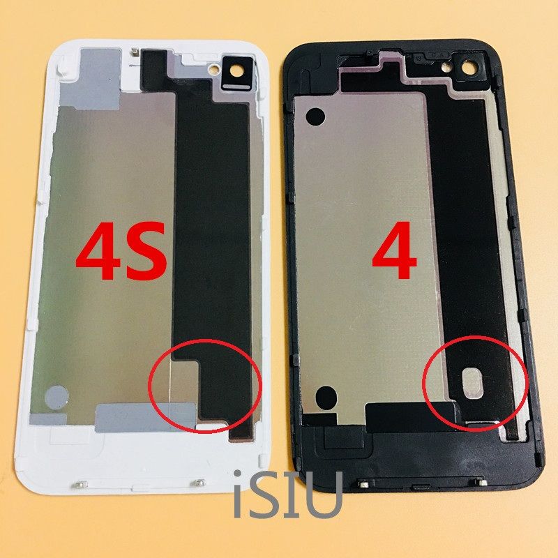 Case Battery-Housing Back-Cover Mobile-Phone-Replacement-Repair-Parts iPhone Metal