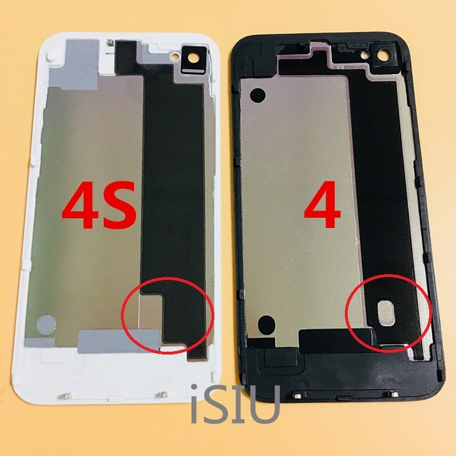380e5a27516a9c For iPhone 4S Back Cover Metal Case Battery Housing For iPhone 4 4G iP4S  iP4 Mobile Phone Replacement Repair Parts for iPhone