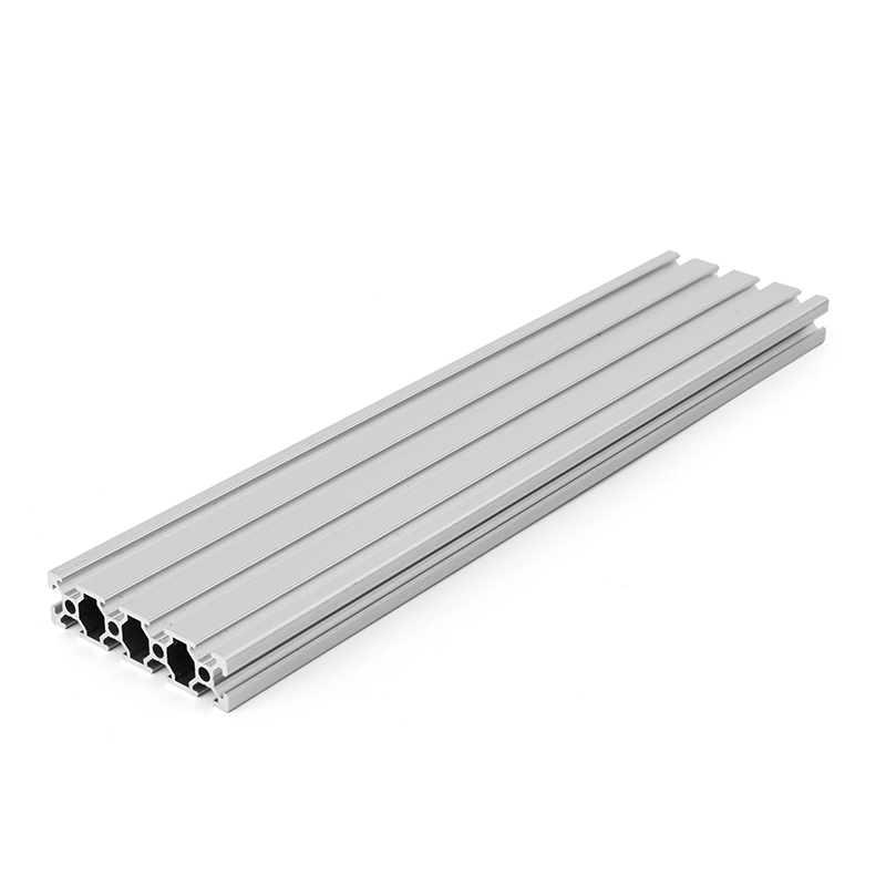 1pc 200/300/400mm Length <font><b>2080</b></font> T-Slot Aluminum Profiles Extrusion Frame For CNC 3D Printer Lasers Stands Furniturepc image