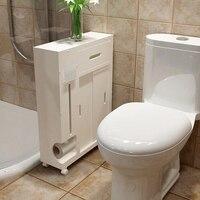 Bathroom Shelves Toilet side Cabinet Shelves Storage Shampoo Cosmetics Waterproof Space Utilization Tissue Box