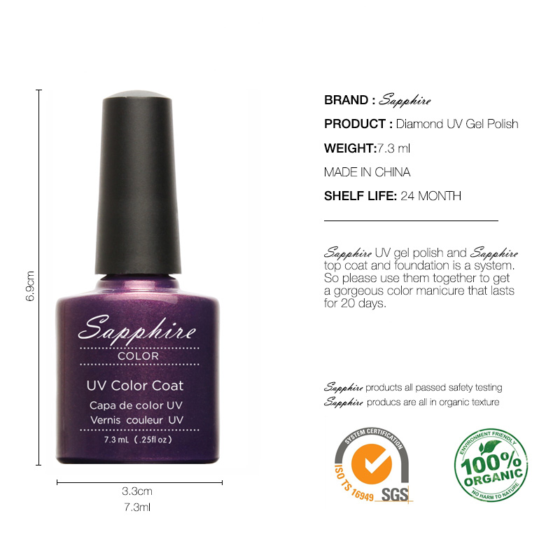 Focallure Uv Led Gel Nail Polish Soak Off Color Nail Art Kit Gift