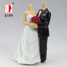 Wedding Cake Topper Personalized Custom real doll custom clay dolls fixed resin body SR061 creative gifts
