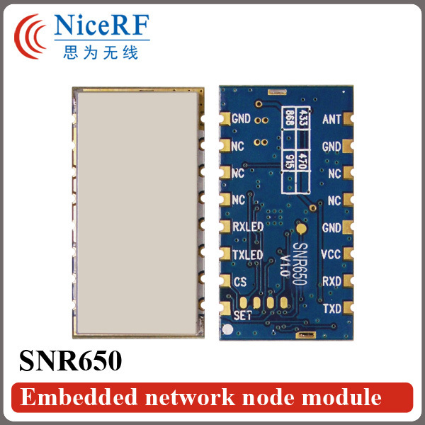 2pcs/pack -121 dBm Sensitivity 500mW 915MHz RS485 Interface Embedded Network Node Module SNR650 For Remote Telemetry2pcs/pack -121 dBm Sensitivity 500mW 915MHz RS485 Interface Embedded Network Node Module SNR650 For Remote Telemetry