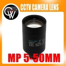 5-50mm Varifocal Lens D14 Mount View About 100m For Analog/720P/1080P AHD/CVI/TVI/IP CCTV Camera