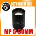 5-50mm Varifocal Lente D14 Vista de Montagem Cerca de 100 m Para Analógico/720 P/1080 P AHD/CVI/TVI/IP Câmera de CCTV