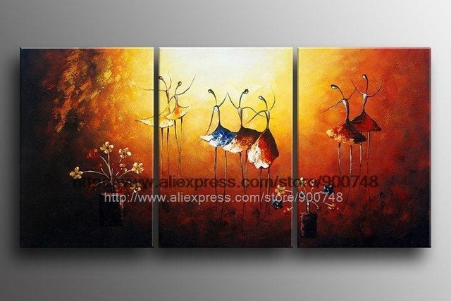 Etonnant Flowers Dance Beauty Abstract Landscape Acrylic Large Canvas Wall  Handpainted Oil Painting Office Background High Quality