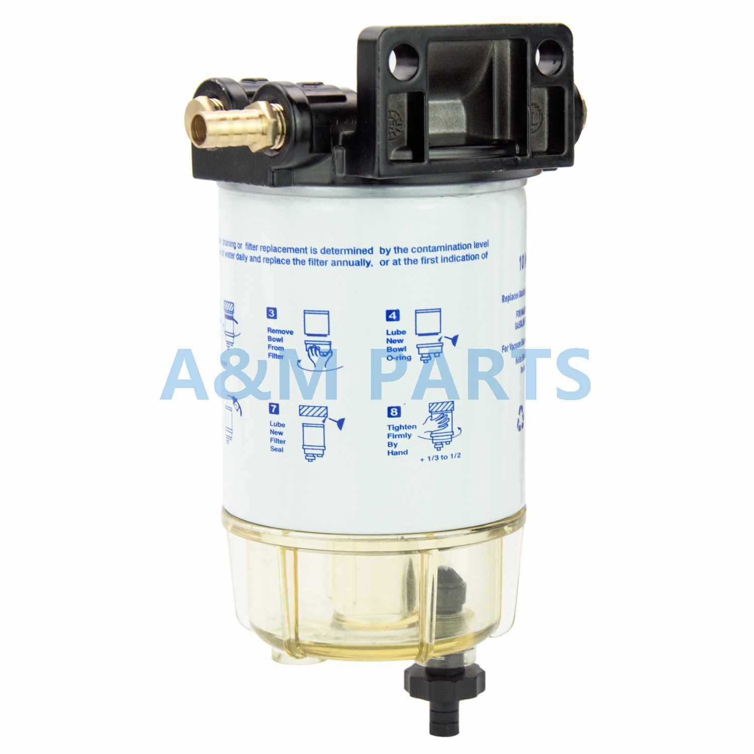 boat fuel filter marine engine fuel water separator for mercury yamaha outboard 10 micron  [ 1500 x 1500 Pixel ]