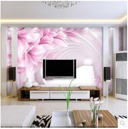 Großes wohnzimmer tv wand mural 3d wallpaper 3d tapete schlafzimmer ...