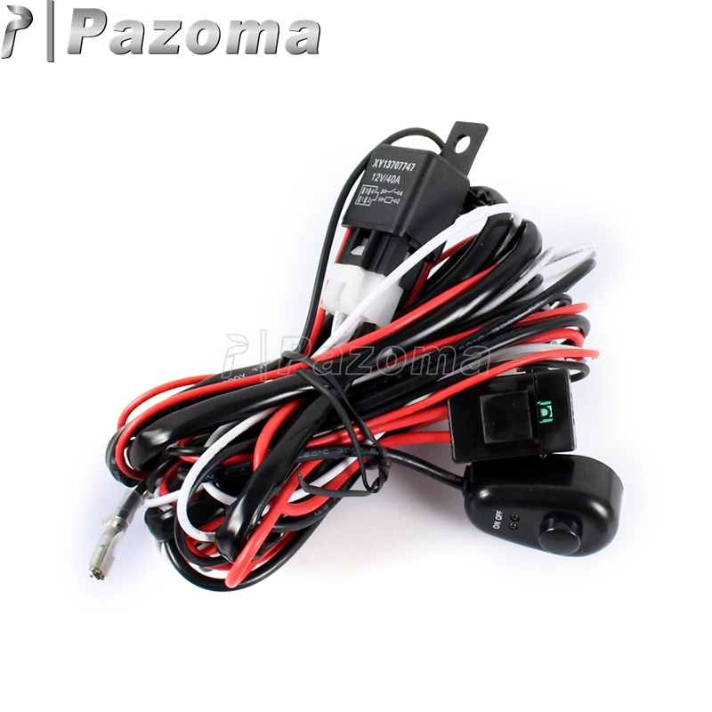 Spotlight Universal Wiring Harness - Wiring Diagram Verified on