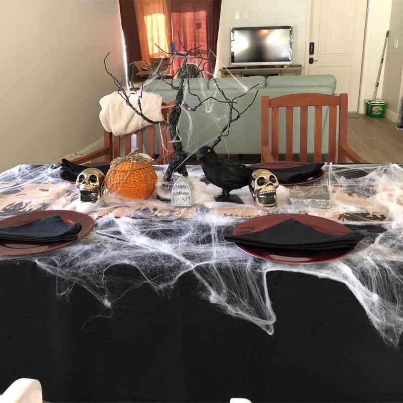 שחור עכביש אינטרנט דלעת שולחן קונפטי פיזור מרכזי בלון בת מכשפה ילד ממתק מתנת תיק ליל כל הקדושים קישוט מתנה
