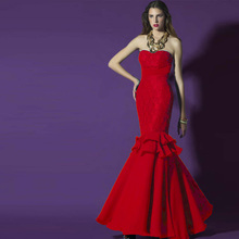 2015 vestido de festa sweetheart mermaid lace party gown evening dress sexy new style custom women casual dress free shipping
