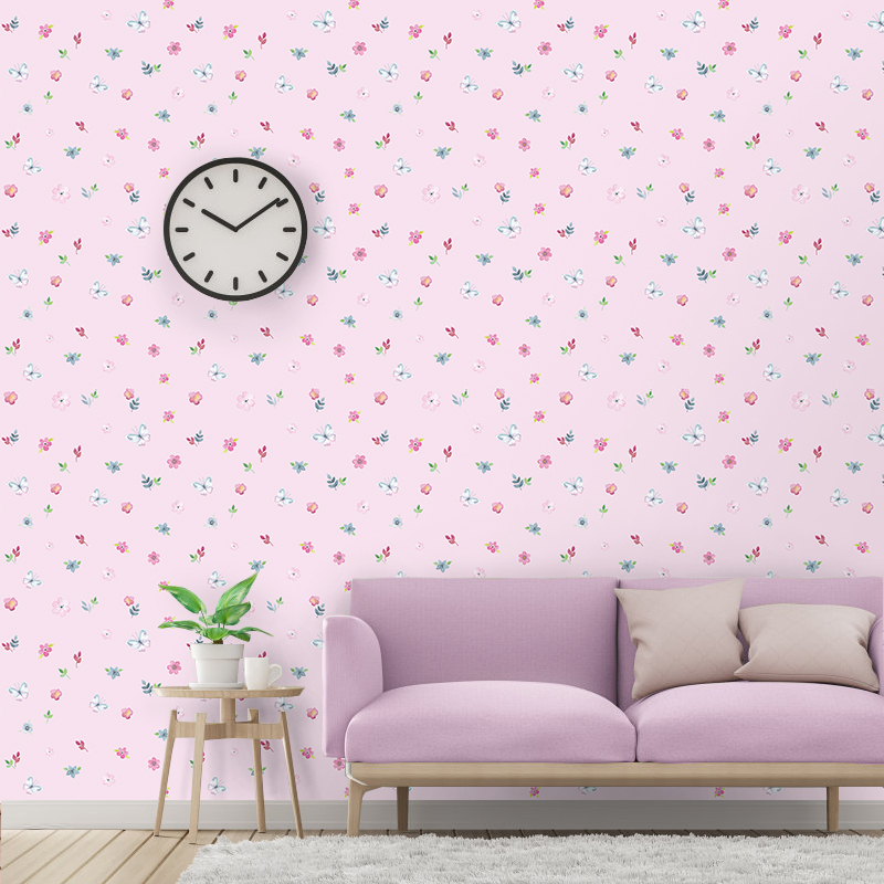 PVC Self-Adhesive Wallpaper 3D Pink Flowers Wall Sticker Wedding House Kids Bedroom Home Decor Waterproof Wall Paper For WallsPVC Self-Adhesive Wallpaper 3D Pink Flowers Wall Sticker Wedding House Kids Bedroom Home Decor Waterproof Wall Paper For Walls
