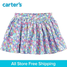 Carter's 1-Piece baby children kids clothing Girl Spring Summer Floral Poplin Skirt 258G981/278H020