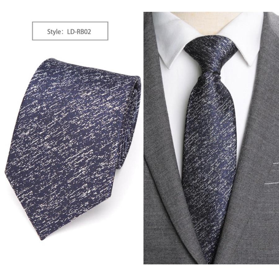 De Lujo Formal corbata 8 cm clásico Paisley Corbata con bordado flor patrón 97281f93b68e